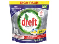 Box of 90 tablets Dreft Platinum lemon