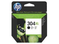 HP 304XL Cartridge hoge capaciteit zwart voor inkjetprinter