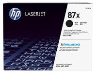 HP 87X - à rendement élevé - noir - originale - LaserJet - cartouche de toner (CF287X)
