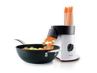 Philips Viva Collection SaladMaker HR1388 - keukenmachine - 200 W - sterwit/ zwart/ rood (HR1388/80)