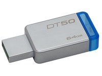 Kingston DataTraveler 50 - USB flash drive - 64 GB