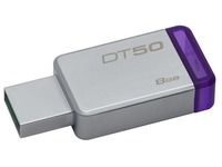 Kingston DataTraveler 50 - USB-flashstation - 8 GB