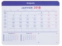Muismat + maandkalender 2018 - 23 x 18 cm