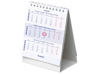 Bureaukalender Brepols 2018