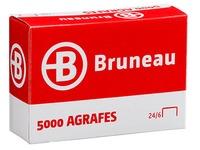 Nietjes Bruneau 24/6 gegalvaniseerd - doos van 5000