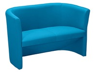 Sofa Premium trendy in fabric blue