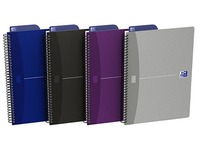 Oxford Office Twin-wire Notebook B5 17,6 x 25 cm - 5 mm Squares - 180 Pages