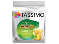 Green tea mint Tassimo Twining - pack of 16 capsules