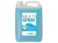 Greenspeed glas- en allesreiniger Multi Spray, citrusgeur, flacon van 5 liter