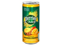 Water Perrier & Juice pineapple mango 25 cl - pack of 24 cans