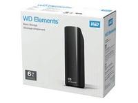 WD Elements Desktop WDBWLG0060HBK - hard drive - 6 TB - USB 3.0
