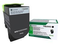 Lexmark 71B20K0 toner black for laser printer