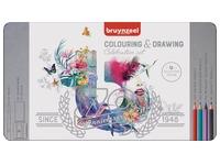 Bruynzeel kleurpotloden Celebration Set 70 jaar, 65 potloden