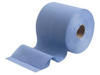 Wypall lingettes nettoyantes L10, 1 pli, paquet de 6 rouleaux, 525 lingettes, bleu