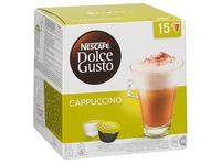 Kaffeekapseln Nescafé Dolce Gusto Kaffee Cappuccino -  Pack von 15 + 15