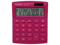 Citizen calculatrice de bureau SDC-812, rose