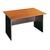 bureau met front schrijftafel met front bureau met voorfront