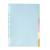 gekleurde tabbladen tabladen