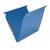 blauwe hangmap met bodem van 1,5cm