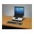 laptopset laptop op steun