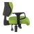 groen armleuning stof verstelbaar bureaustoel