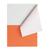 papier orange klad recycleren boom ros clementine appelsien scheur papier